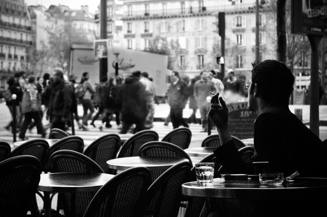 Terrasse De Cafe Parisienne Cafes Never Too Late